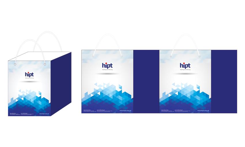 thiết kế túi giấy thời trang