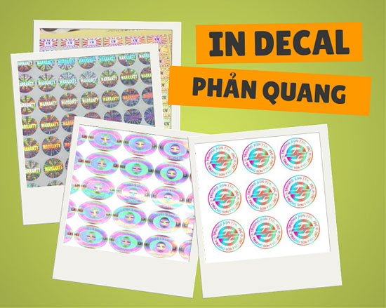 in ấn decal phản quang