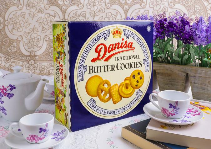 Nhận biết hàng thật bánh Danisa qua bao bì