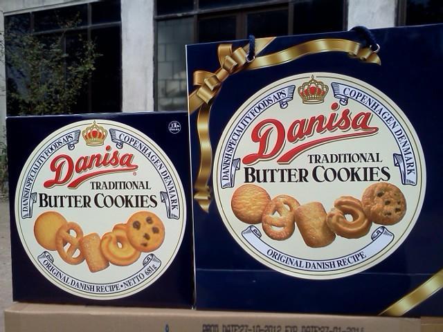 In bao bì thương hiệu bánh Danisa