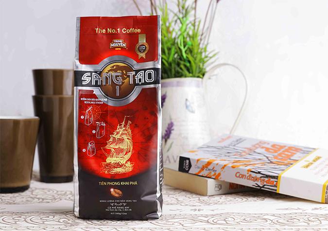 Bao bì cafe Trung Nguyên