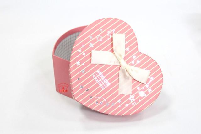 In hộp giấy hình trái tim giá rẻ hcm