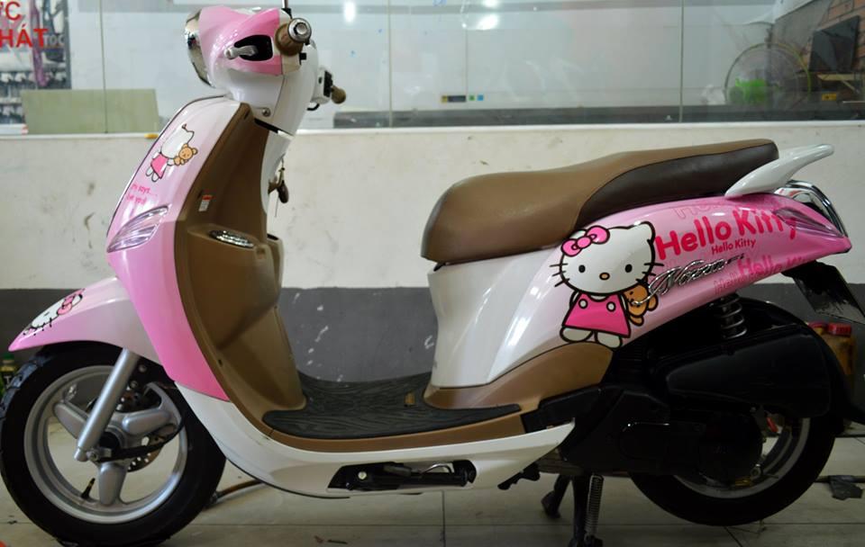 Tem Hello Kitty cho các loại xe máy