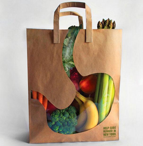 Túi đựng rau củ quả City Havest