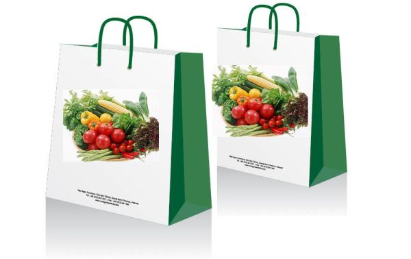 In túi giấy đựng hoa quả tươi, chất lượng