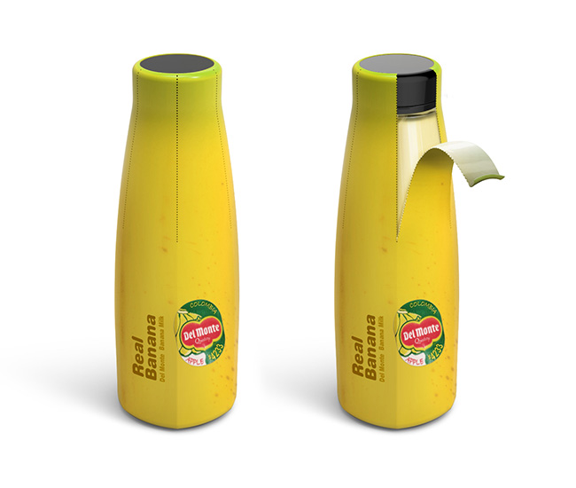 Bao bì sữa Real Banana Milk
