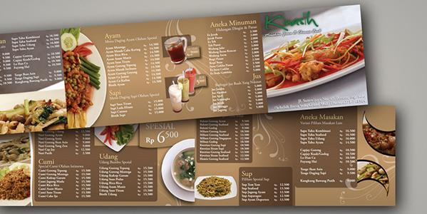 in ấn menu nhanh rẻ