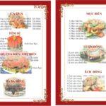 Mẹo để viết menu nhà hàng giúp khách hàng gọi nhiều hơn