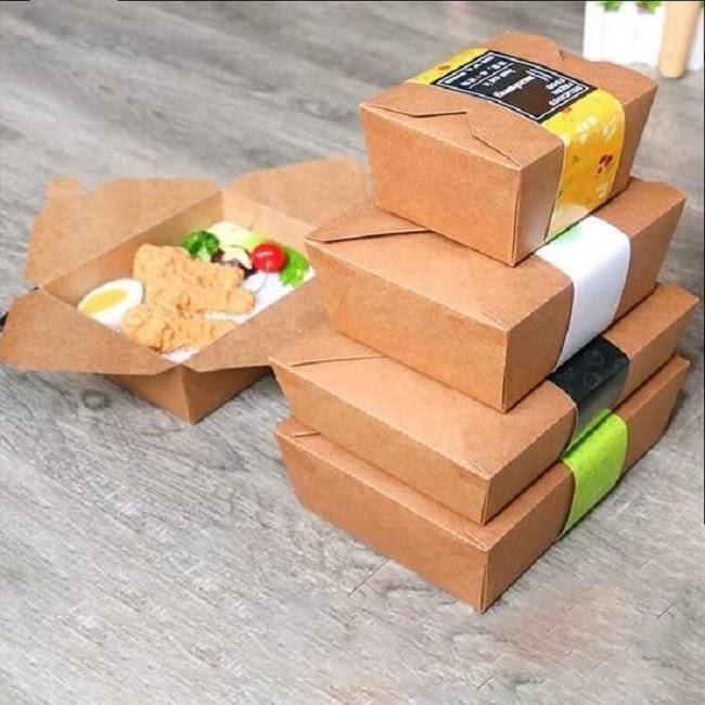 in hộp đựng thức ăn nhanh