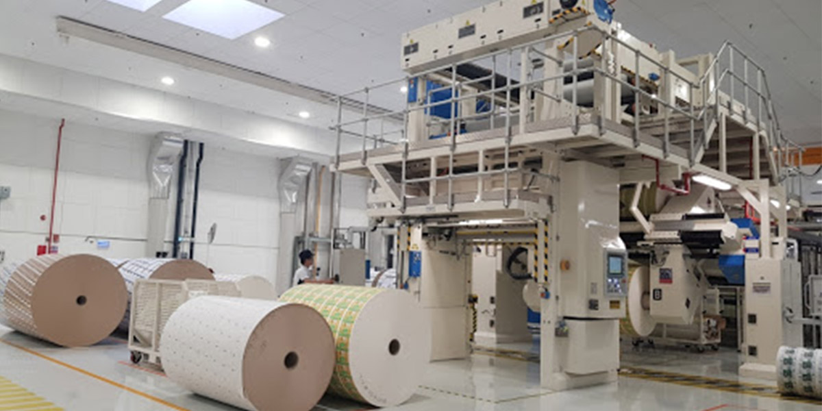 dây chuyền sản xuất thùng carton